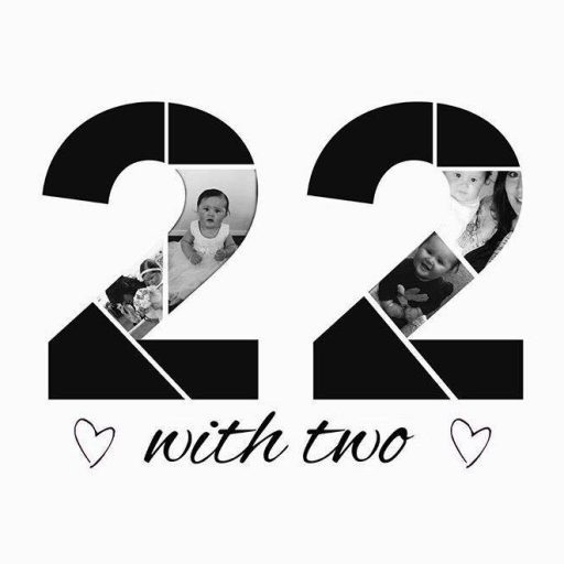 22 with two