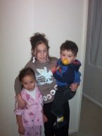 Jackson (4), Lacey (10) and Jayden (17 months), 22nd June 2005